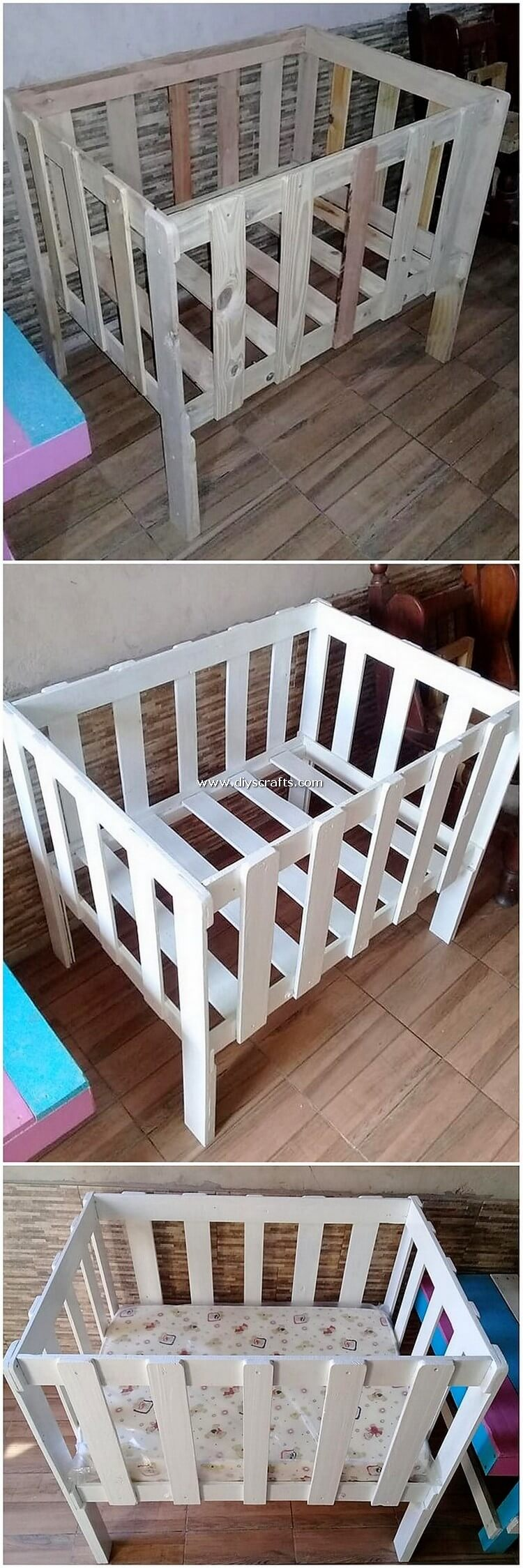 Pallet-Bed-for-Babies