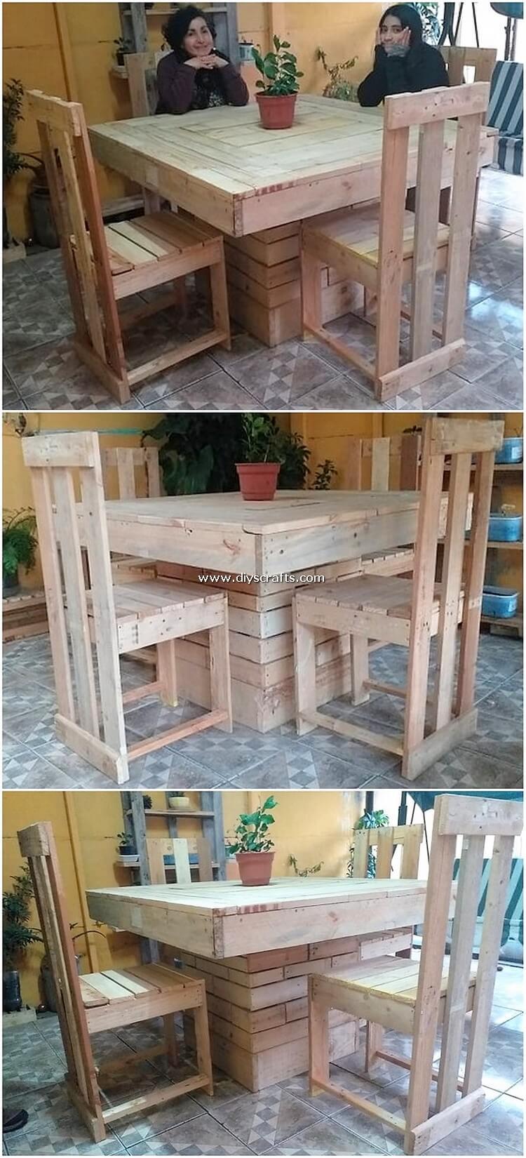 Pallet-Dining-Furniture-Set