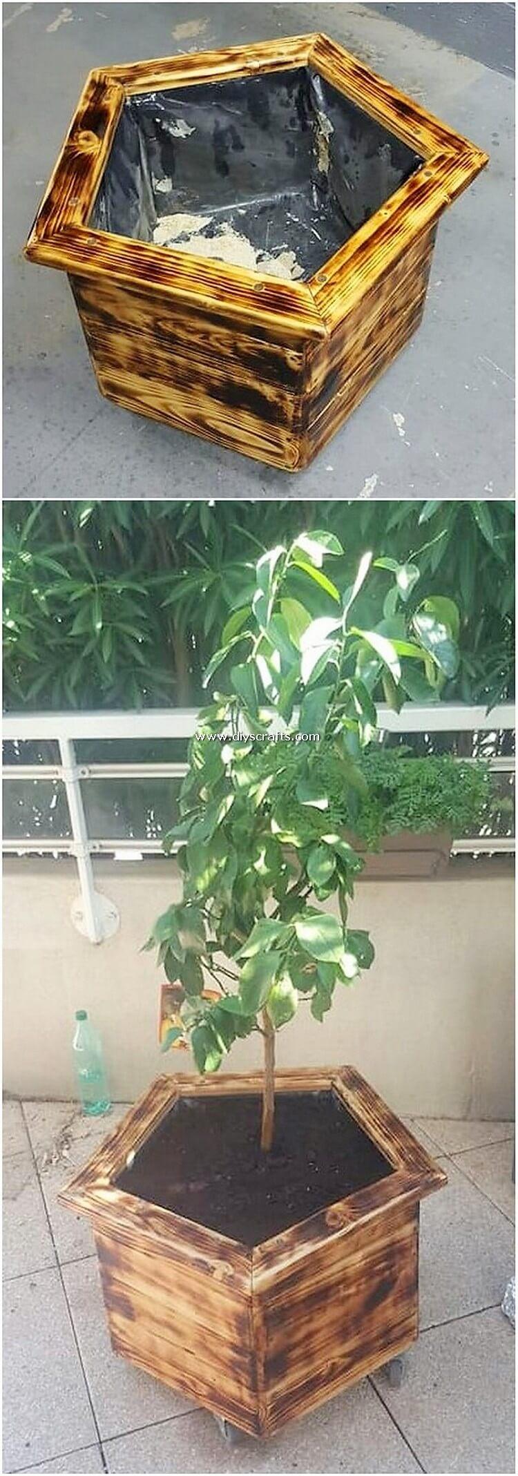 Pallet-Planter-Box