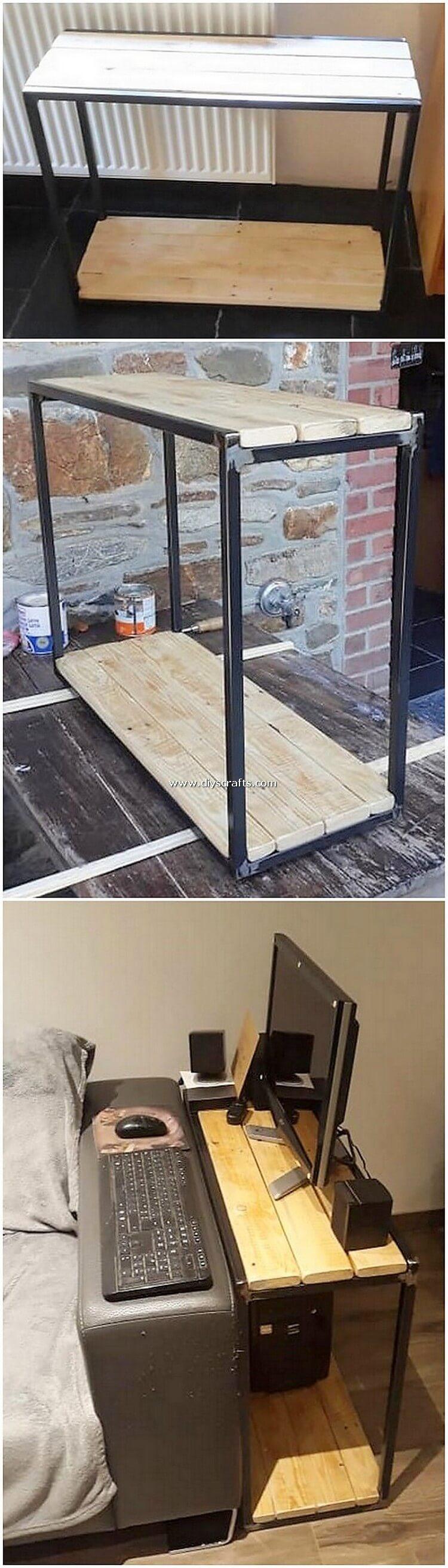 Pallet-Side-Desk-Table
