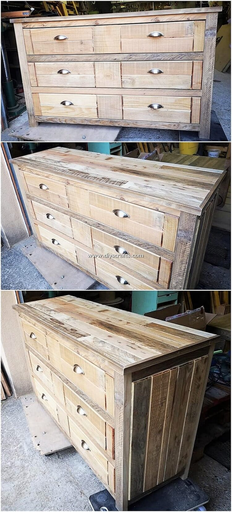 Pallet-Wood-Chest-of-Drawers