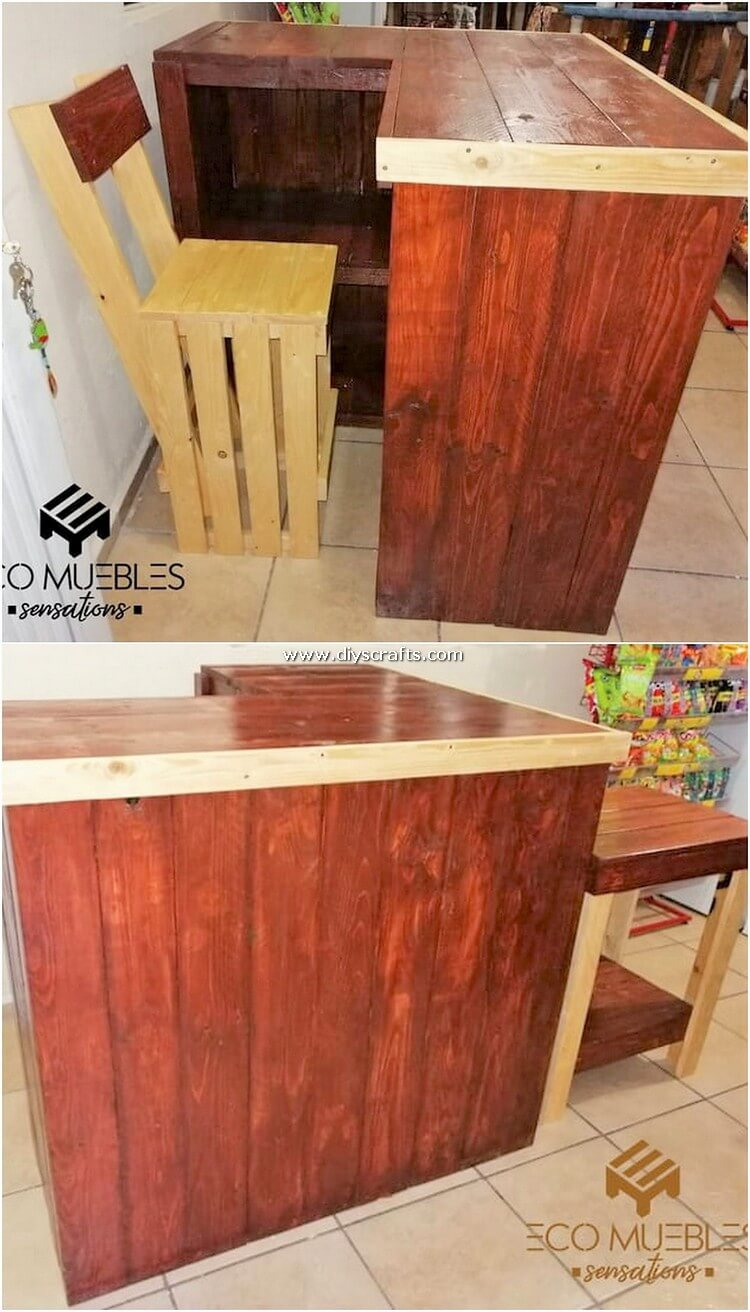 Pallet-Counter-Table-and-Chair