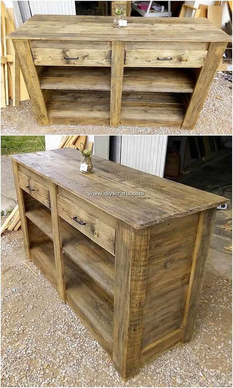 Wood-Pallet-Table-with-Drawers