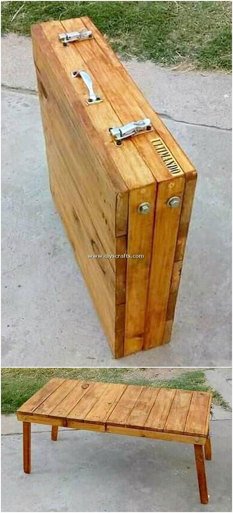 Pallet-Folding-Table