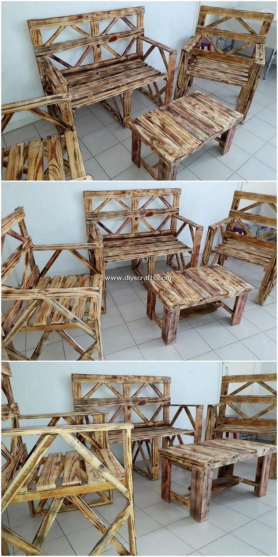 Pallet-Furniture-Set