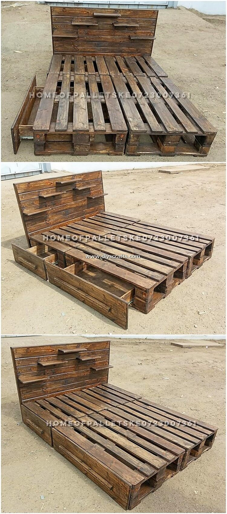 Pallet-Bed-with-Drawers-1