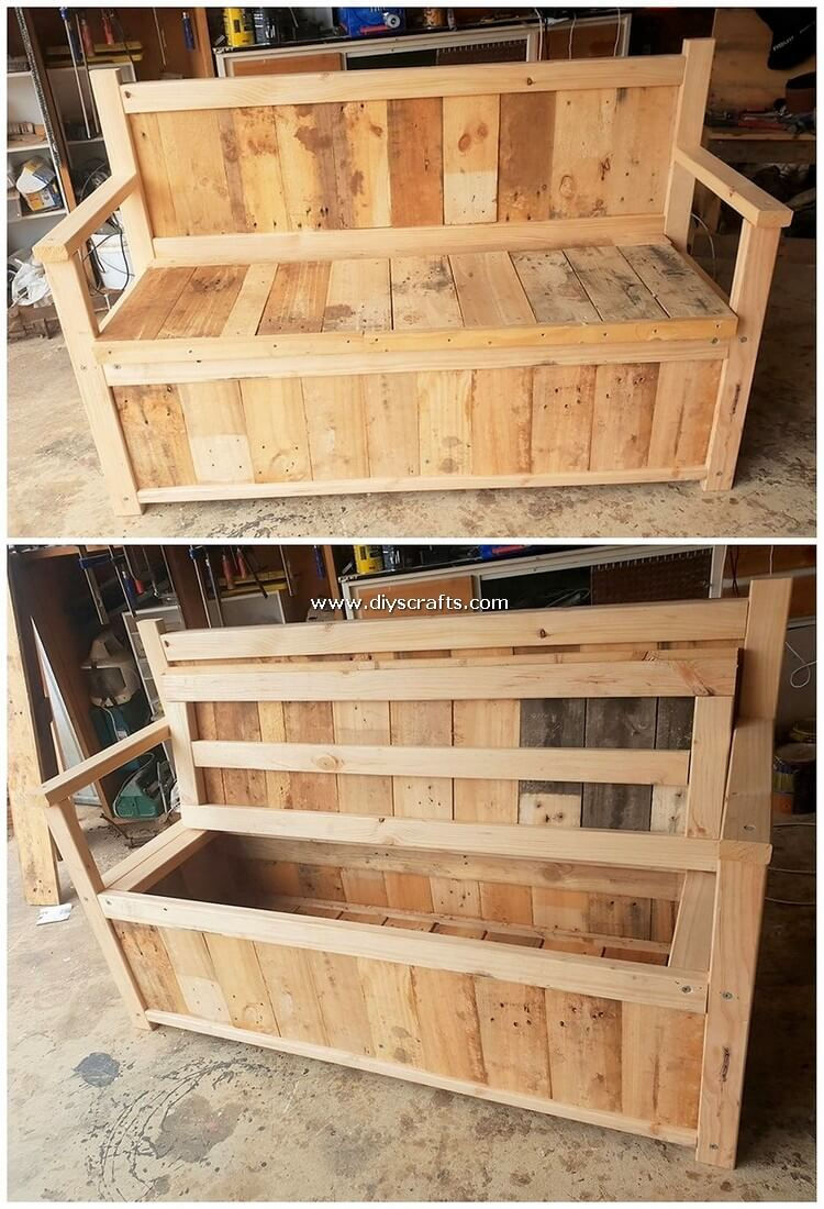 Pallet-Bench-with-Storage