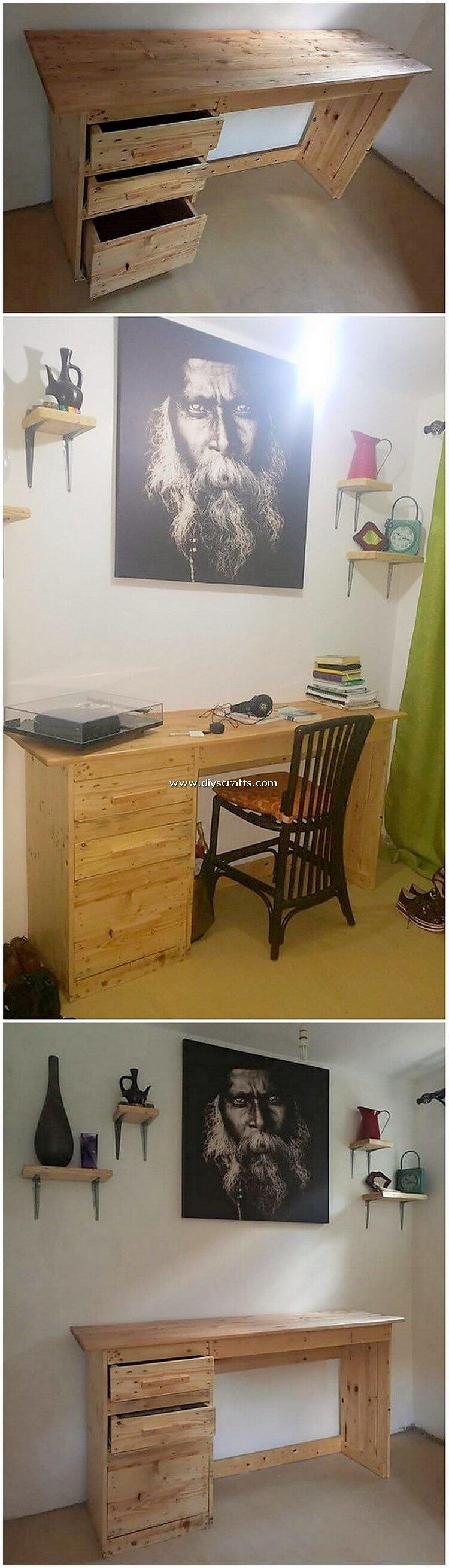 Pallet-Office-Desk-Table