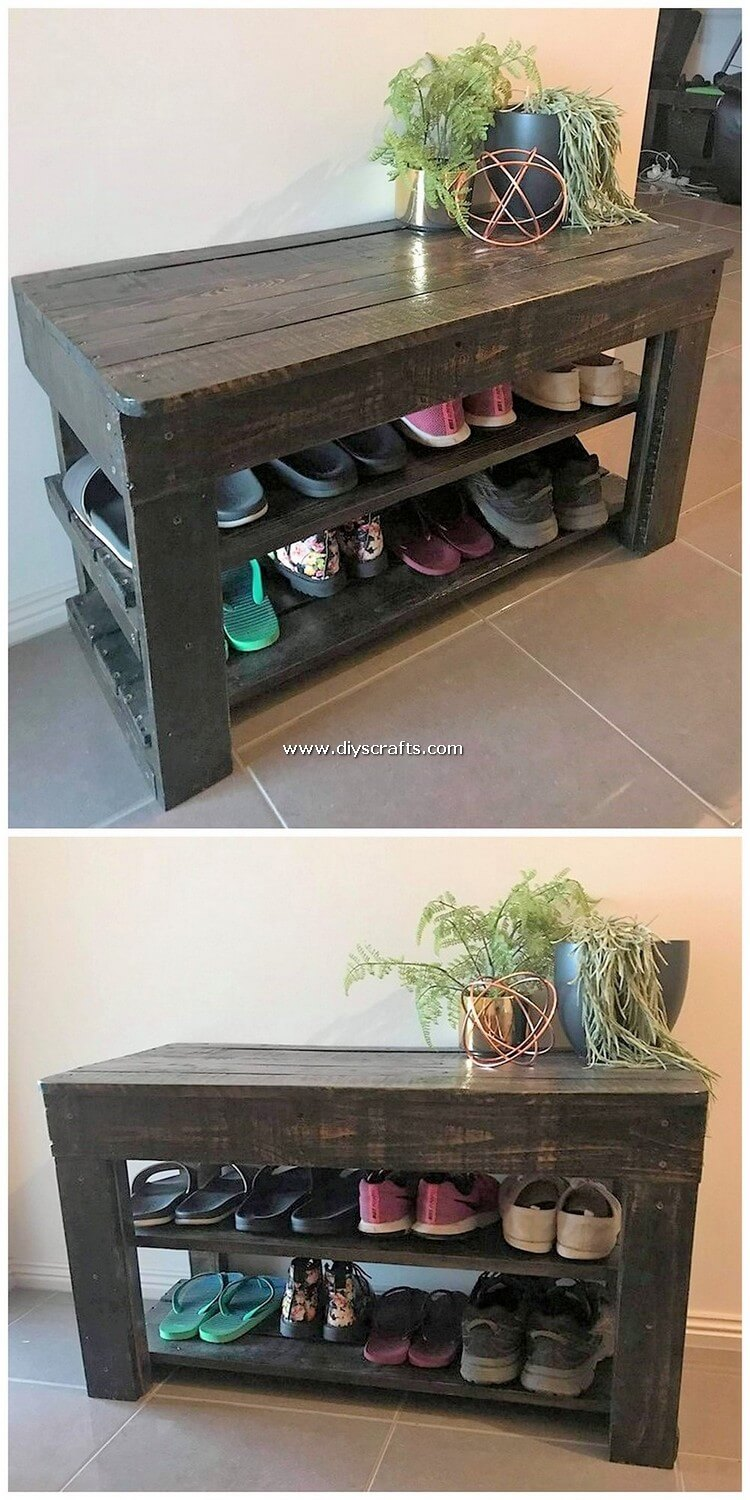 Pallet-Table-with-Shoe-Storage